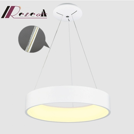 Fish Line LED Round Pendant Lamp for Living Room